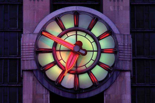 Art Deco Clock, Union Terminal