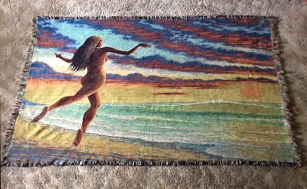 Sundancer Blanket | markhensonart
