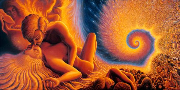 Spiral Genesis Tapestry