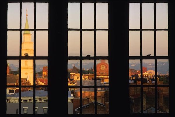 View of Over-the-Rhine, Cincinnati, OH