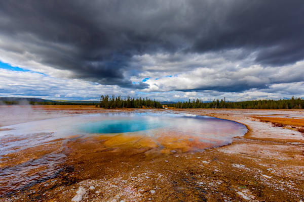 Hot Spring, Yellowstone: National Park - by Curt Peters