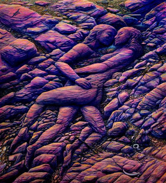 Desert Life Tapestry | markhensonart