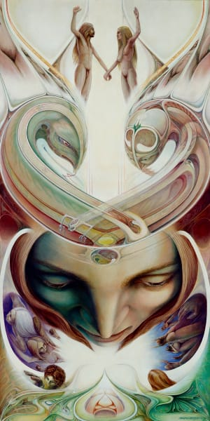 Dualities custom print from the original painting by Mark Henson