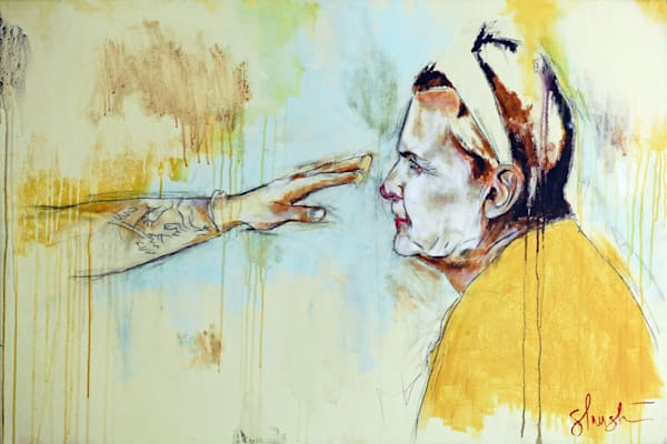 art, clowns, makeup, painting, morning