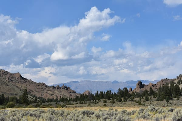 Photograph of mountains and rock formations for sale as Fine Art