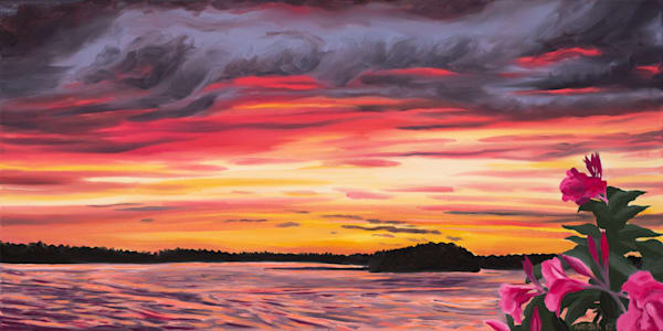 'Sunset Blaze' Art for Sale