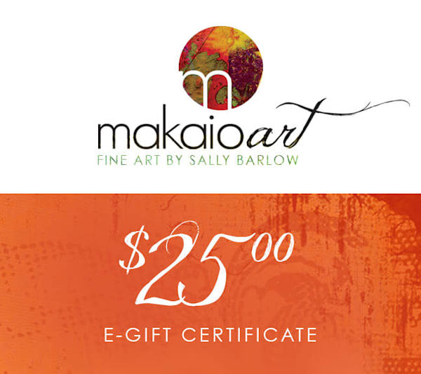 $25 Makaio Art Gift Card