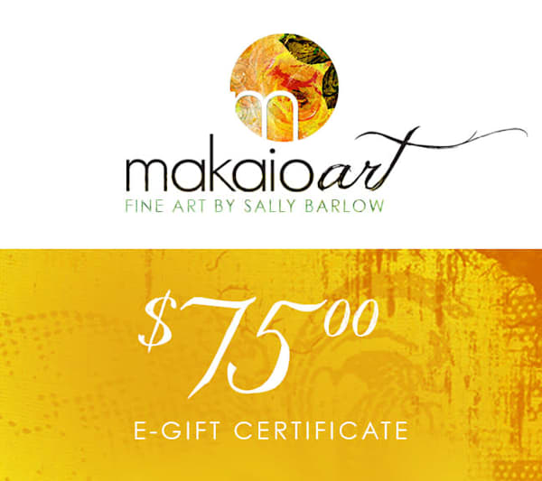 $75 Makaio Art Gift Card