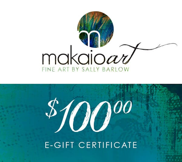 $100 Makaio Art Gift Card