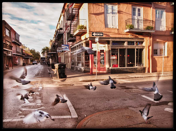 New Orleans, Pigeons at the Corner