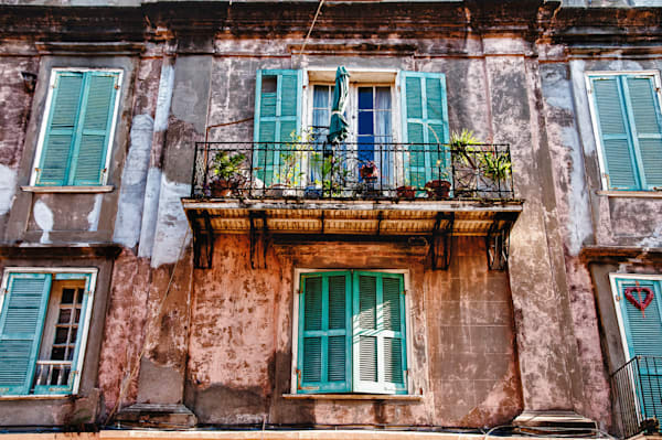 New Orleans, Teal Shutters