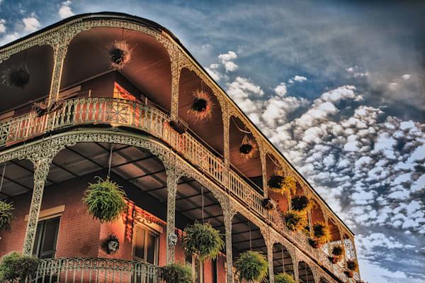 New Orleans corner building