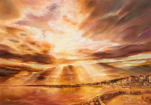 """Golden City"" by Irina Song 