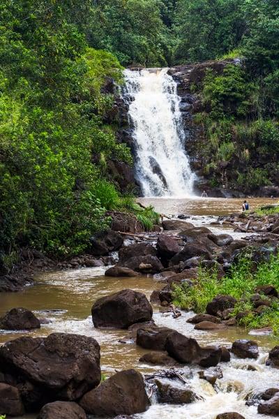 Waimea Falls in Hawaii Photograph For Sale As Fine Art