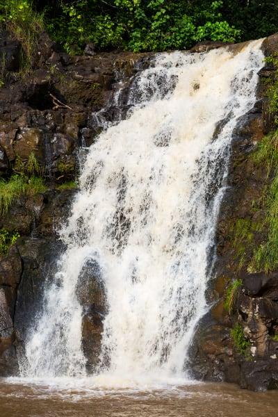 Waimea Falls On Oahu's North Shore Photograph For Sale As Fine Art