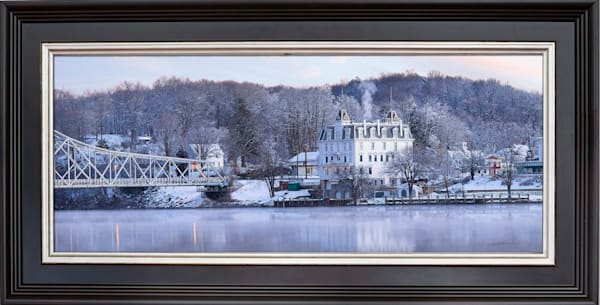 Winter View of Goodspeed Opera - Special Edition