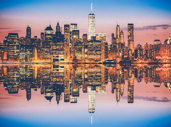 Manhattan Multiplied | Kirby Trapolino Fine Art Photography