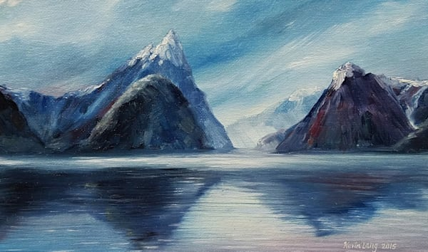 Winter Fjord Art | Kevin Lang Fine Art