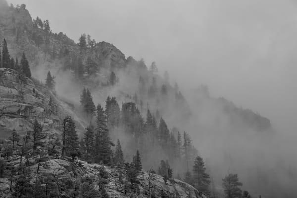 Rain, Wind, And Granite Photography Art | David N . Braun Photography