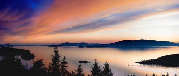 Pacific Northwest Panorama Photographs