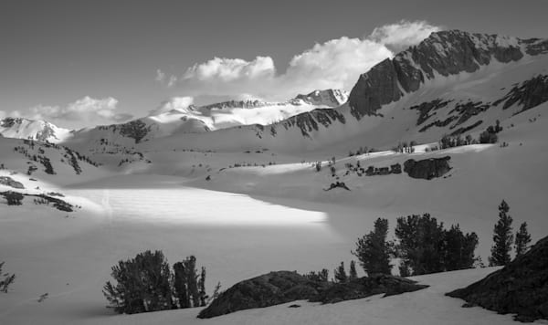 Late Afternoon Shadows Across Twenty Lakes Basin Photography Art | David N . Braun Photography