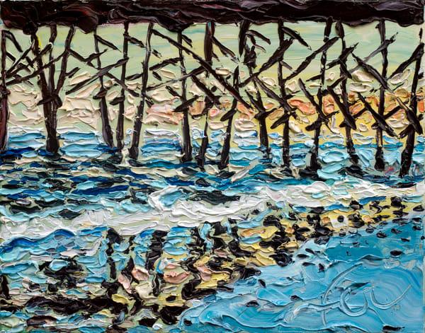 Pier Reflection at Folly Beach