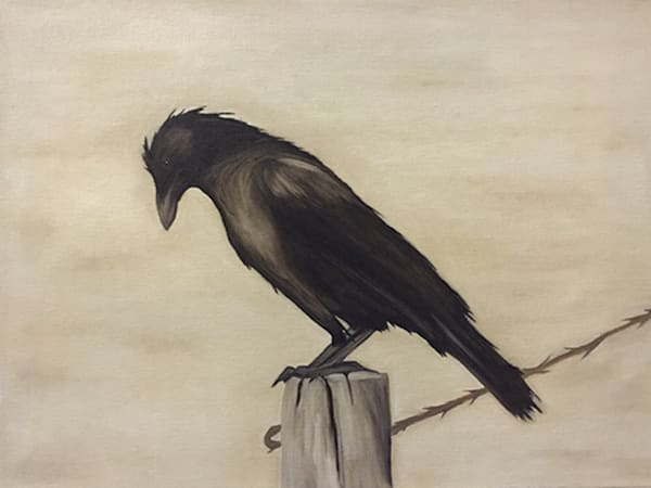 Indiana Crow Art | BBrom ART