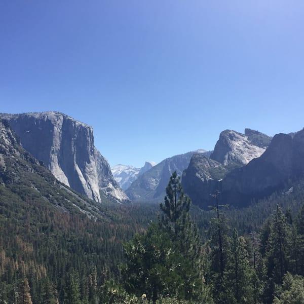 Yosemite Tunnel View Art | BBrom ART
