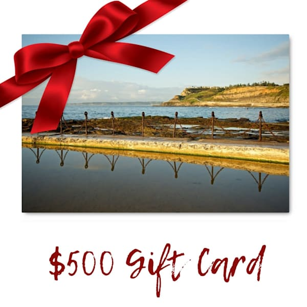 $500 Gift Card Voucher for Art