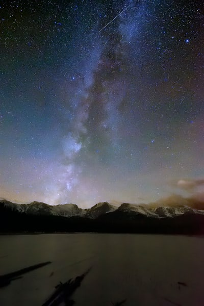 Milky Way over Bierstadt Lake