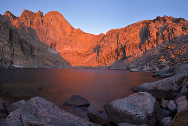 Sunrise in Chasm Cirque