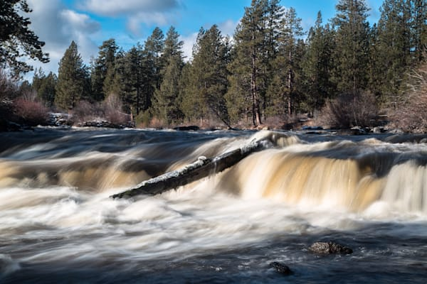 Deschutes River in Winter