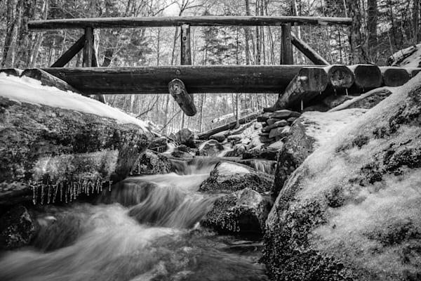 Bridge Over Cold Water I Vermont Landscape Photography I David N. Braun |