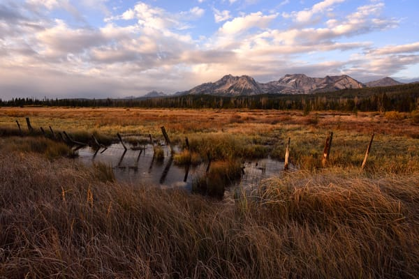 Sawtooths Rising - Sawtooth Basin in Central Idaho - Fine Art Prints on Metal, Canvas, Paper & More By Kevin Odette