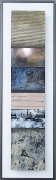 Vertical Stripe 2  (Original)  Sold Art | Laurie Fields Studio