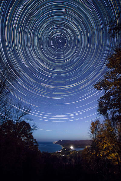 Sleeping Bear Star Trails