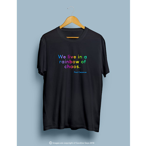 rainbow, paul cezanne, tshirt, design, art