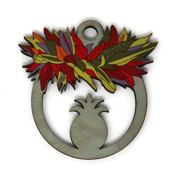 Haku Pineapple Ornament