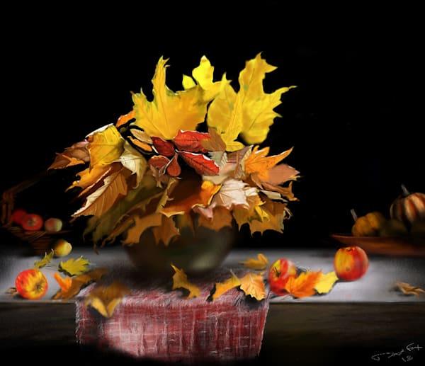 Fall Table Art | Dave Fox Studios