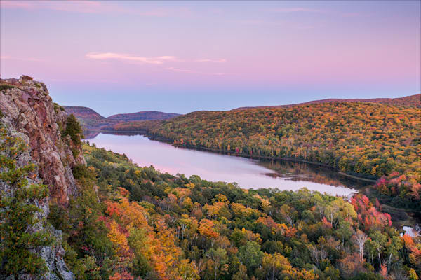 Fine art photos of the Michigan's Porcupine Mountains