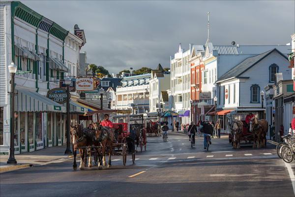 Main Street, Mackinac Island