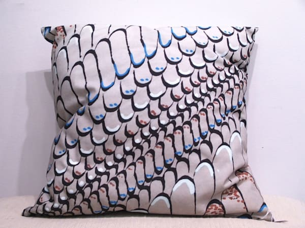 Calligraphy Pillow   Laurie Fields Studio