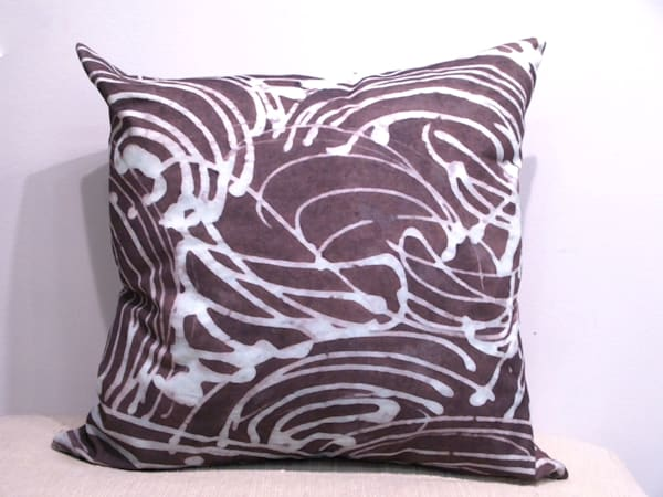 Batik Pillow | Laurie Fields Studio