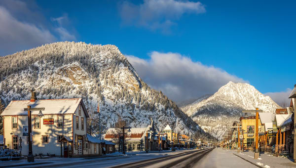 Main Street, Frisco, Colorado, Winter
