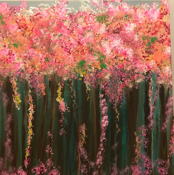 Pink Spring Blossoms | Marci Brockmann Author, Artist, Podcaster & Educator
