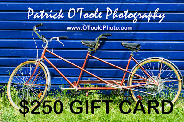 $250 Gift Card | Patrick O'Toole Photography, LLC