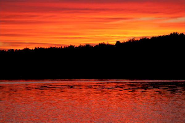 Grand Island Sunset