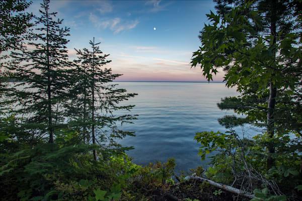 Moonrise, Keweenaw Bay
