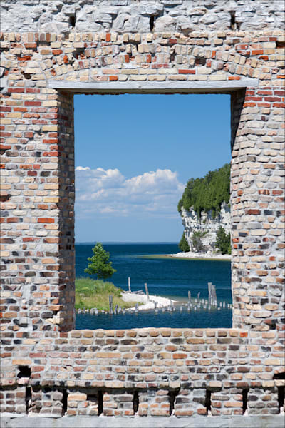 Fine art photos of Michigan's ghost town: Fayette State Park