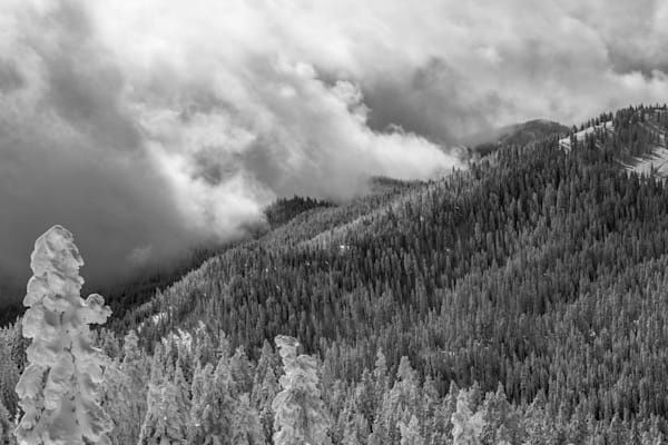 Clouds Moving Across the Siskiyous I Oregon Landscape Photography I David N. Braun | Southern Oregon